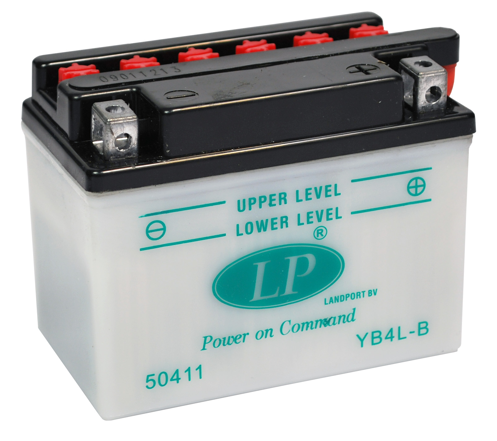 YB4L-B motor accu met zuurpakket