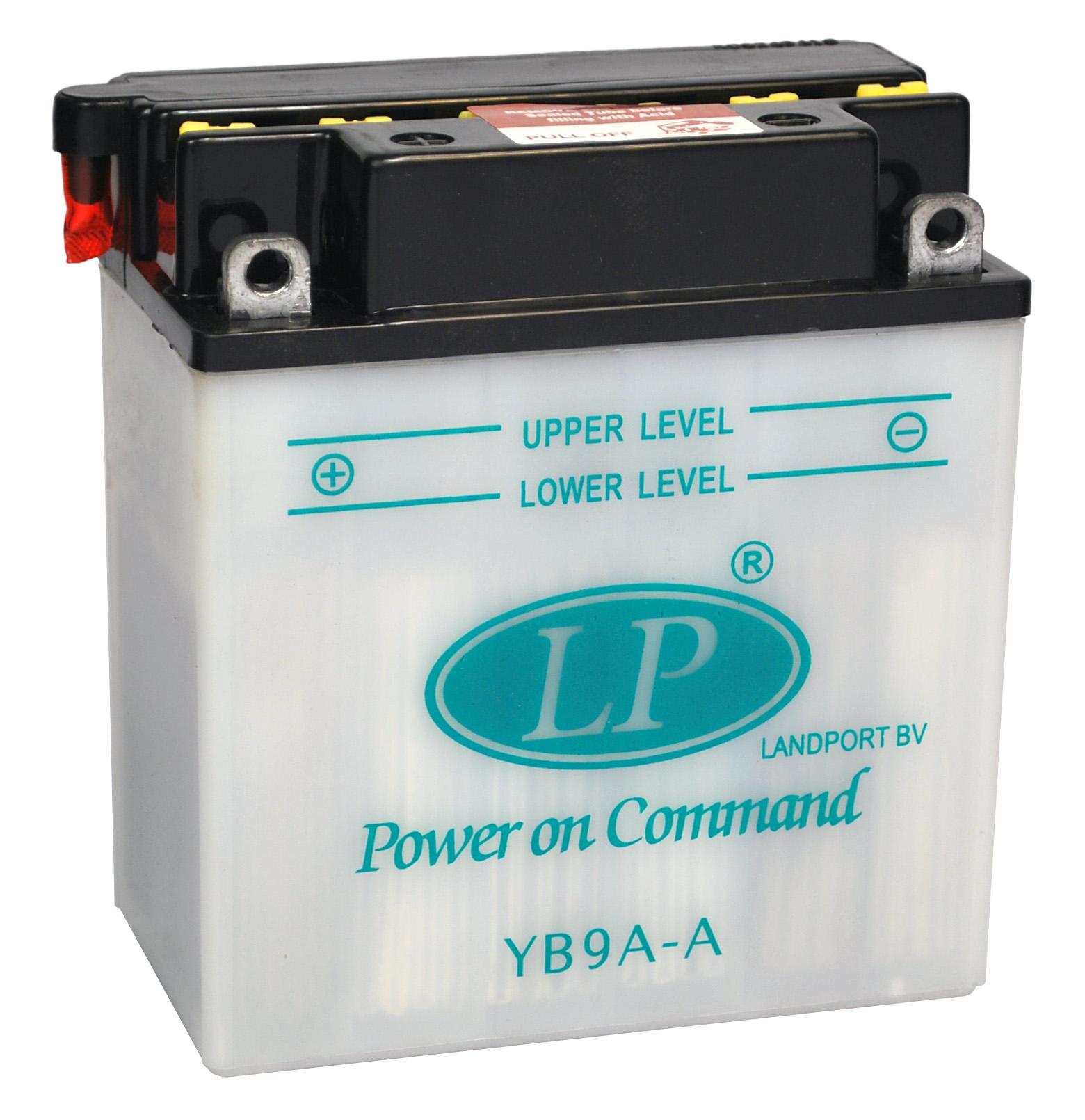 YB9A-A motor accu zonder zuurpakket