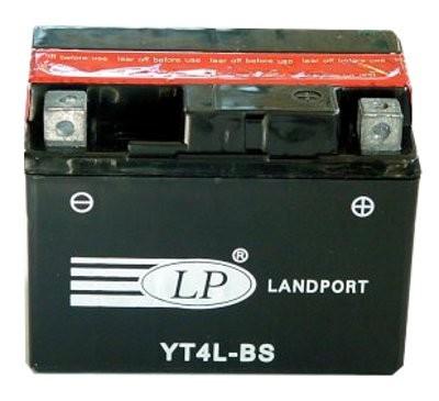YT4L-BS motor accu met zuurpakket