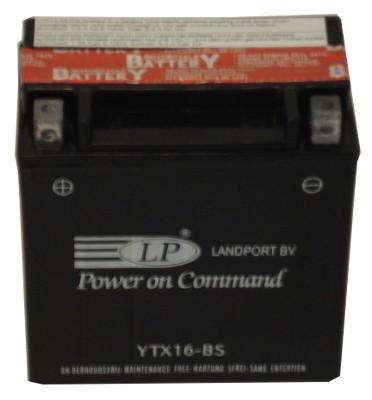 YTX16-BS-1 motor accu met zuurpakket