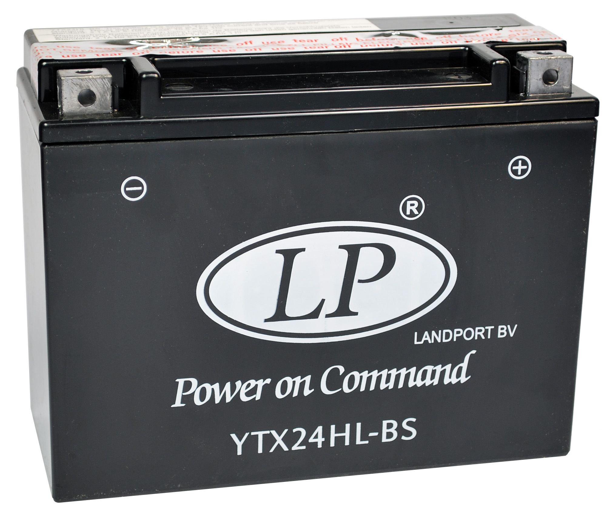 YTX24HL-BS motor accu met zuurpakket