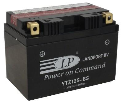 YTZ12S-BS motor accu met zuurpakket