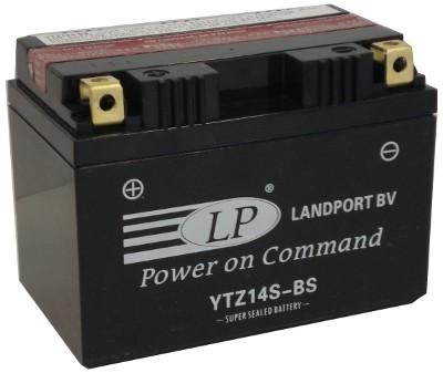 YTZ14S-BS motor accu met zuurpakket