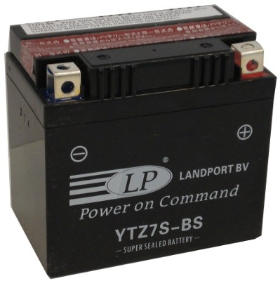 YTZ7S-BS motor accu met zuurpakket