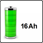 16Ah - +€85,-