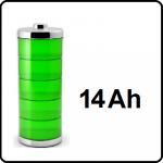 14Ah Li-Ion - +€80,-