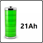 21Ah - +€120,-