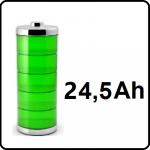 24,5Ah - +€180,-