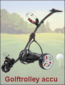Golftrolley accu